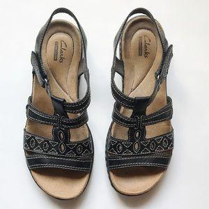 Clark's Collection Leisa Apple Sandals